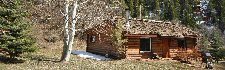 Taylor Creek Cabins.  Cabins on the Frying Pan River Colorado